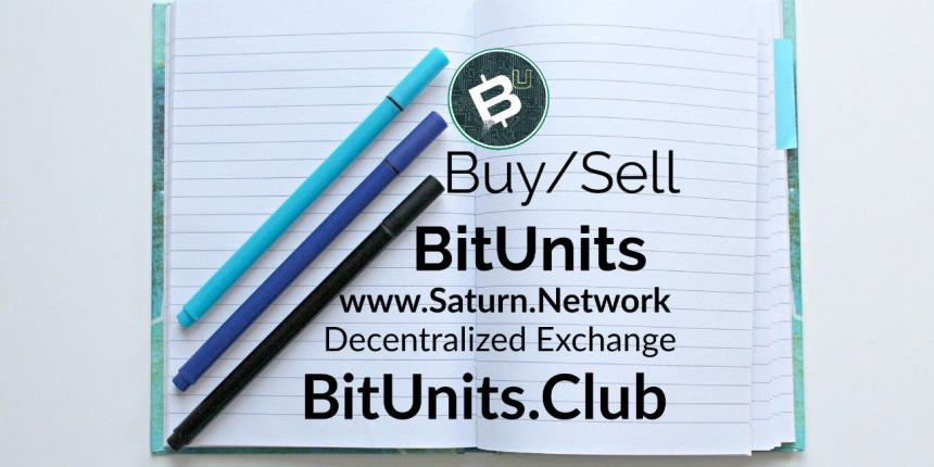 How to Buy BitUnits on the Saturn Network DEX