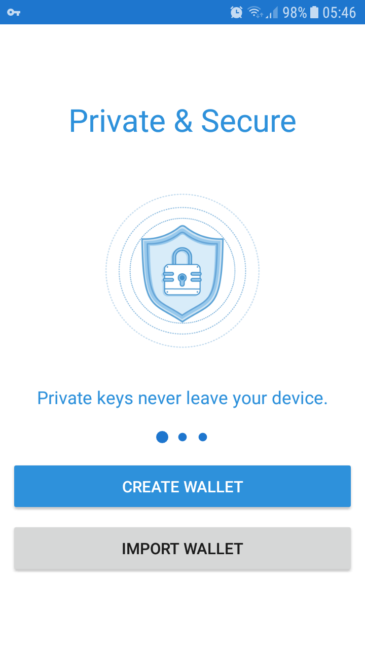 Import Private Key from MEW or Saturn Into Trust Wallet